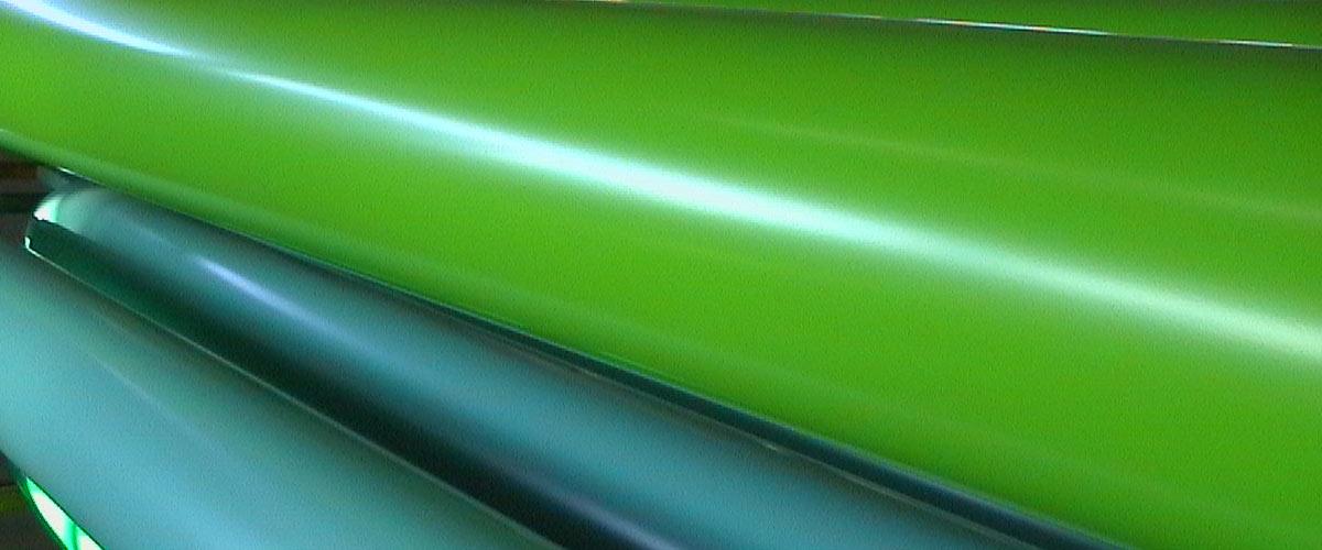 Kunststofflackierung Farbmuster